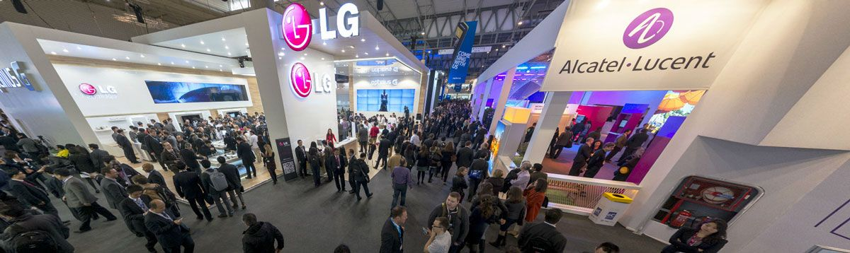 Mobile World Congress Exhibition Stand