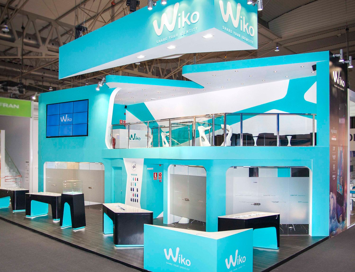 Exhibition Stand Design at Mobile World Congress