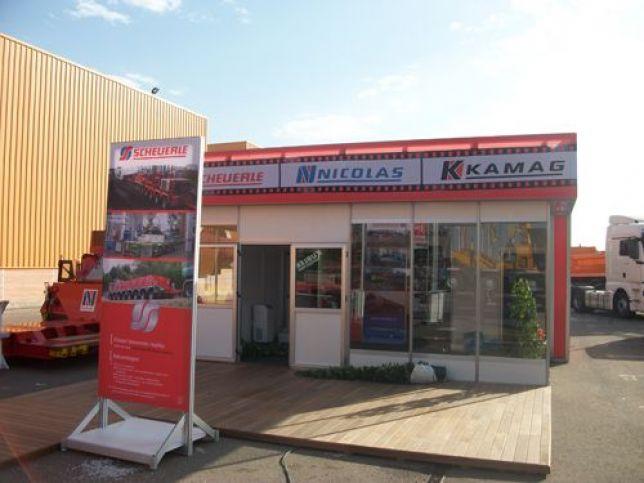Iberstand realiza el montaje de un iberhall en la xv - Empresas temporales zaragoza ...