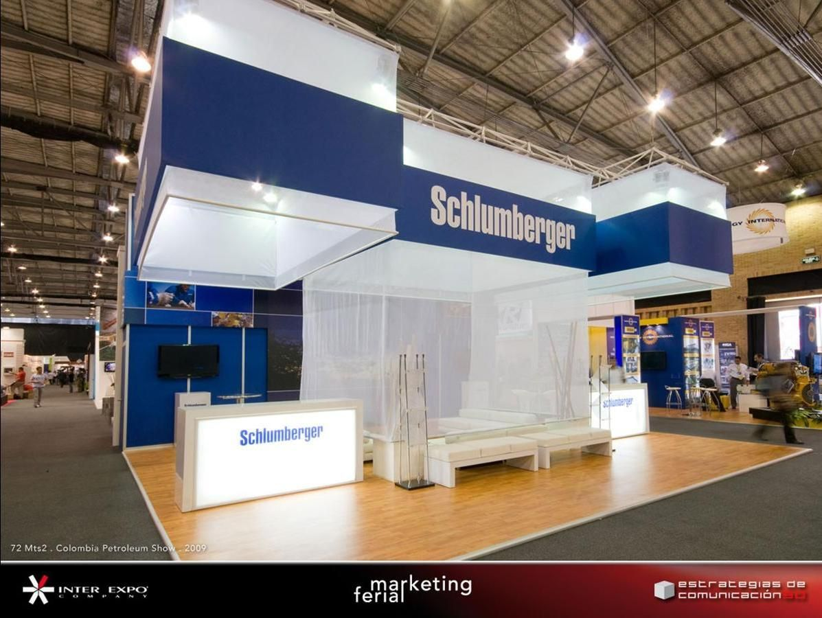 Stand Expo Europa : Photo of stands inter expo s a bogotá