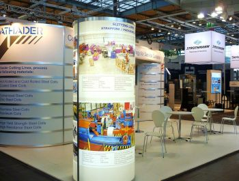 Stand for Athader at  Euroblech