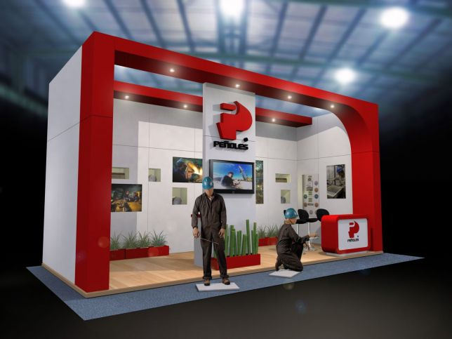 Stands Para Expo : Expo gnp mayo