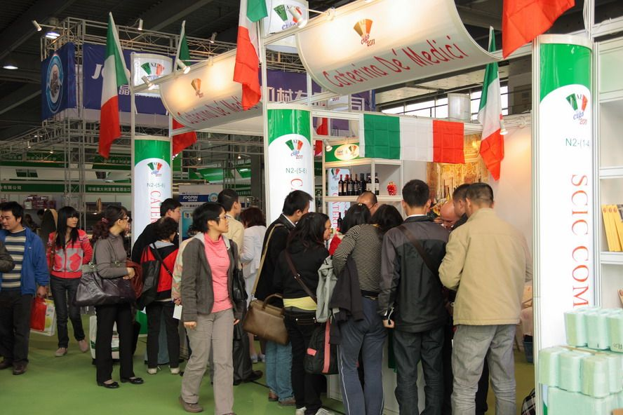 Trade Event Stands : China international food exhibition and guangzhou import