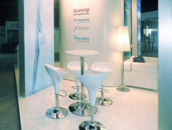 Amgen stand for the SEOM '11