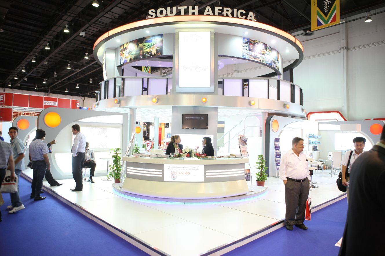 Modular Exhibition Stand Qatar : Kontar group stands