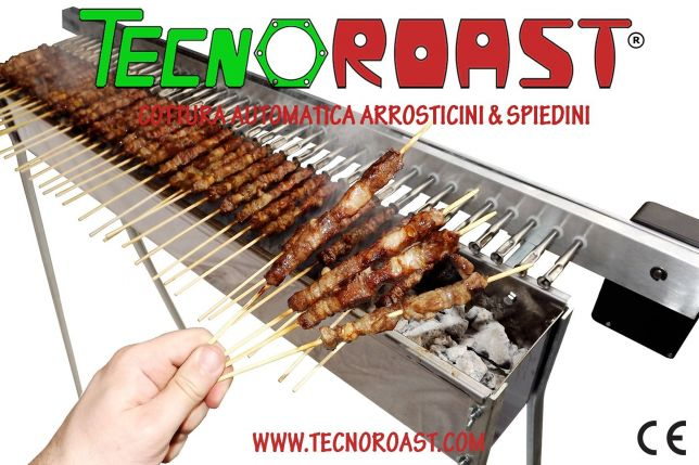 Tecnoroast machine automatique de brochettes de cuisson for Machine de cuisson