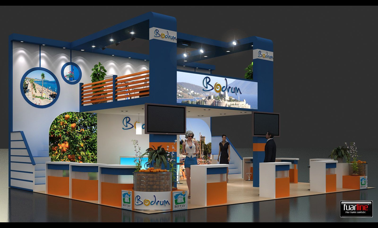 city fair stand design and build services