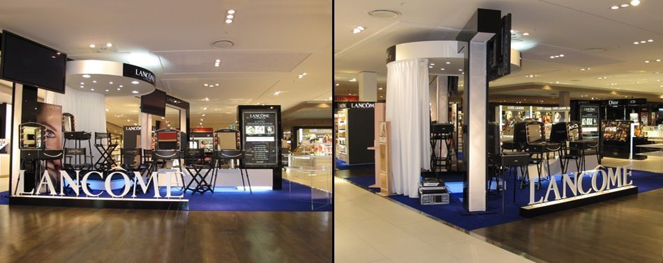 Exhibition Stand Builders Paris : Stands lancome paris france expoglobal exhibitions