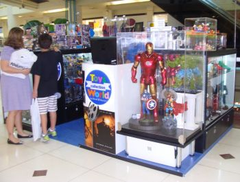 Kiosk for Shopping - Toys Collection