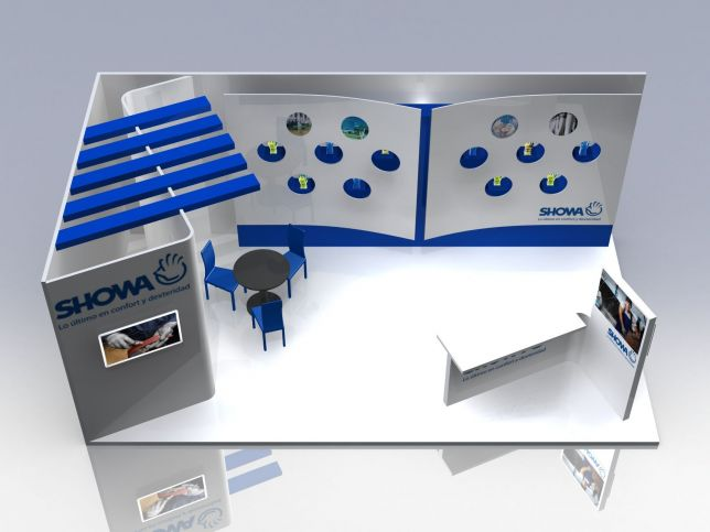 Simple Exhibition Stand Quotes : Proposal stand sicur madrid