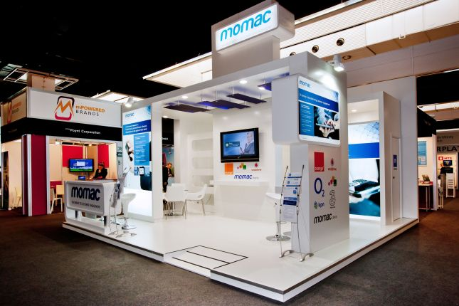 mobile world congress stand