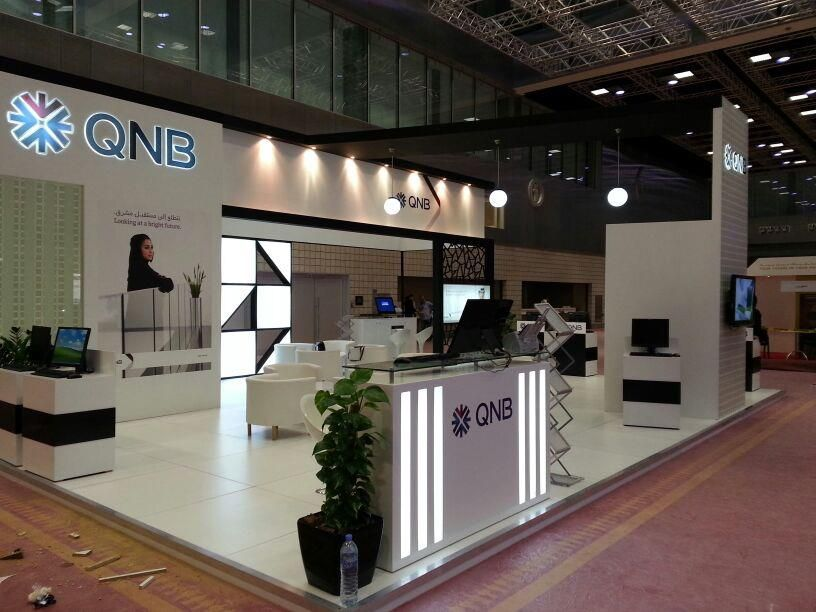 Exhibition Stand Contractors In Doha Qatar : Photo of stands imc qatar exhibition event doha