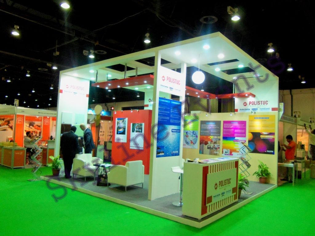 Stand designing fabrication dubai for Fabricant de stand