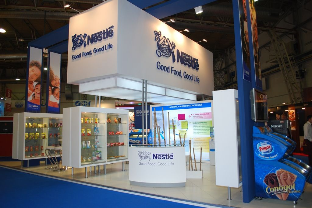 Nestle Exhibition Booth : Stands rmb design solutions buenos aires