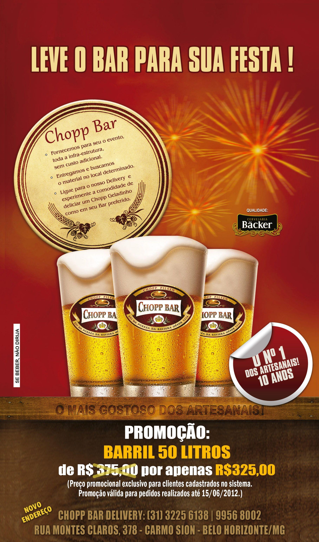Chopp para eventos em belo horizonte chopp em bh delivery - Bar para casa ...