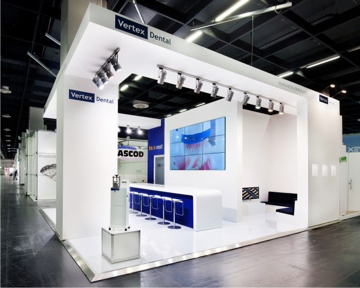 Design Of Exhibition Stand : Vertex dental on the ids in cologne