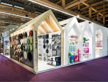 The Present Time stand at the Ambiente, a stand with all kinds of styles.