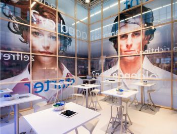 The Randstad stand at Carrierebeurs 2013