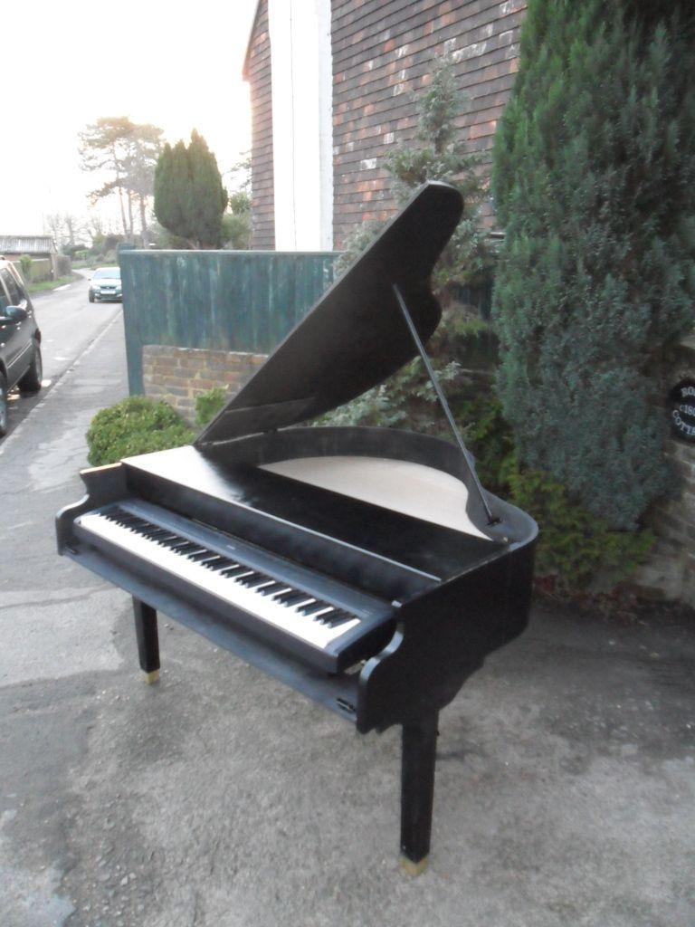 Willson Amp Kempe Semigrand Grand Piano Shell