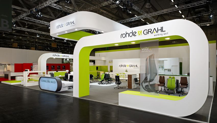 Exhibition Services Stall Design : Formundraum gmbh messebau