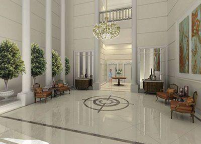 Decorhall designer de interiores - Decoracion hall entrada ...