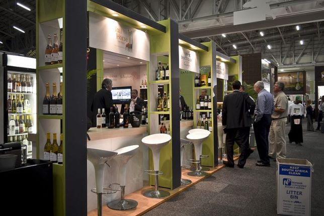 Exhibition Stand Design Cape Town : Wines of south africa cape wine