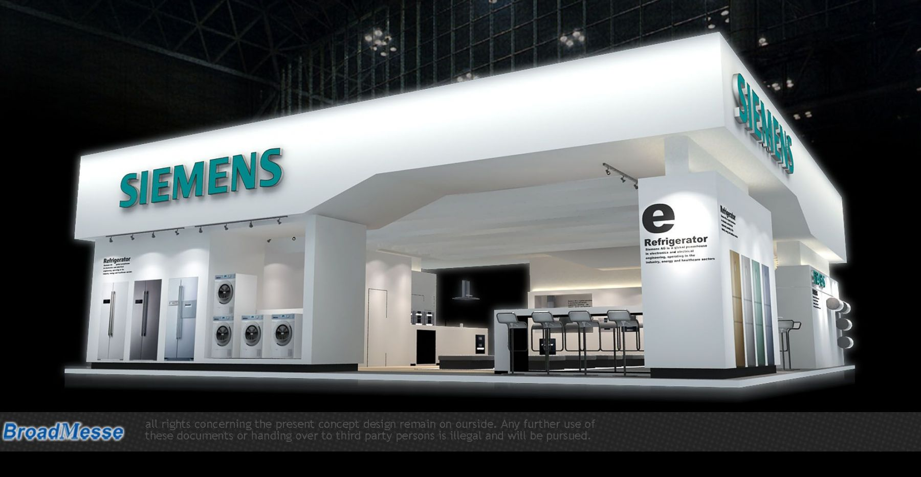 Modular Exhibition Stand By Me : Broadmesse international