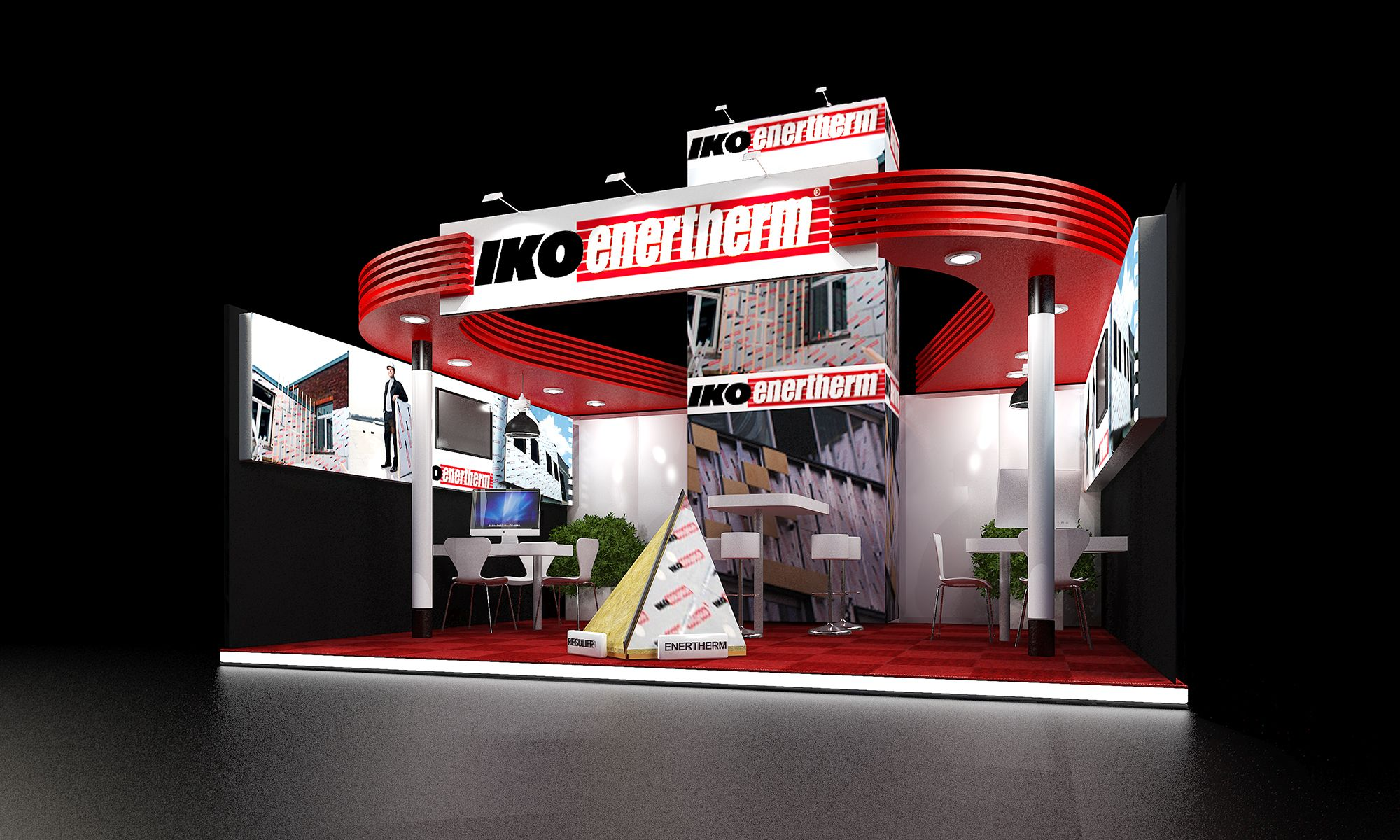 Big Exhibition Stand Design : Little stands can be big and beautiful