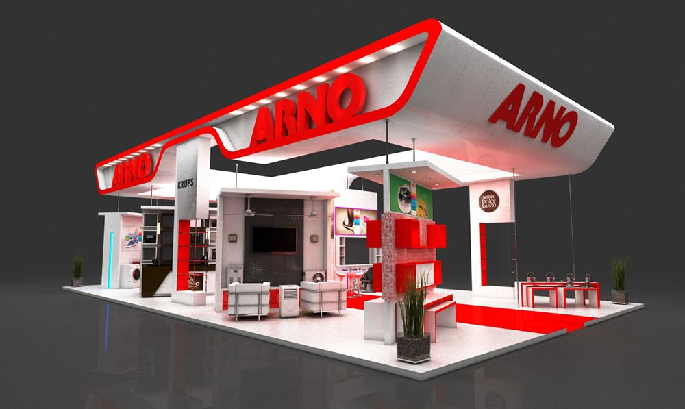 Studio garage 3d for Design de stand