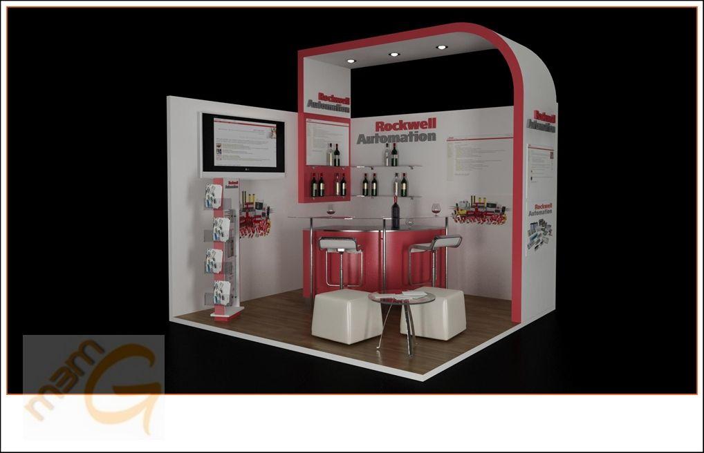 M3 marketing group for Design de stand