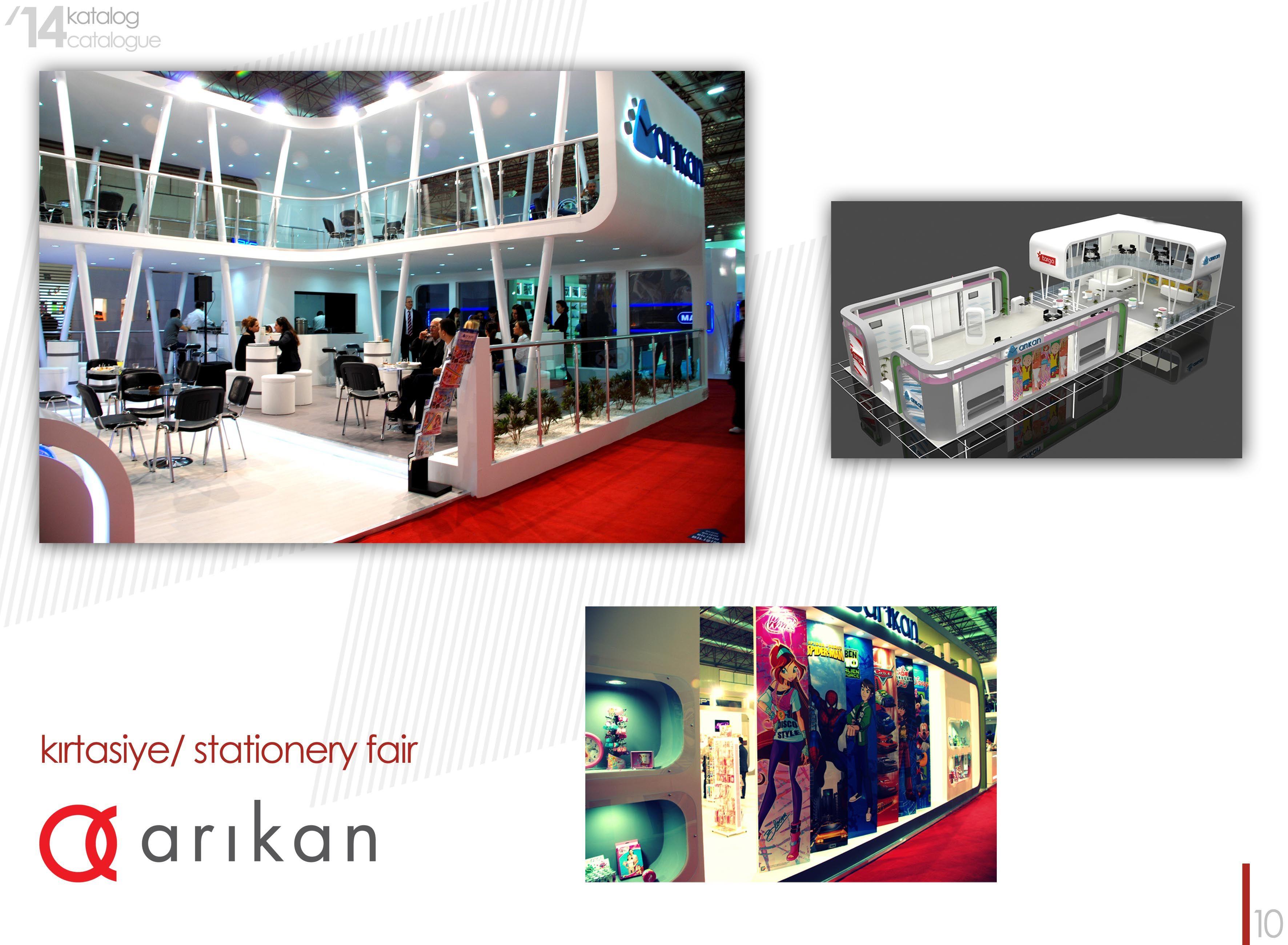 Modular Exhibition Stand Qatar : Nada tasarım