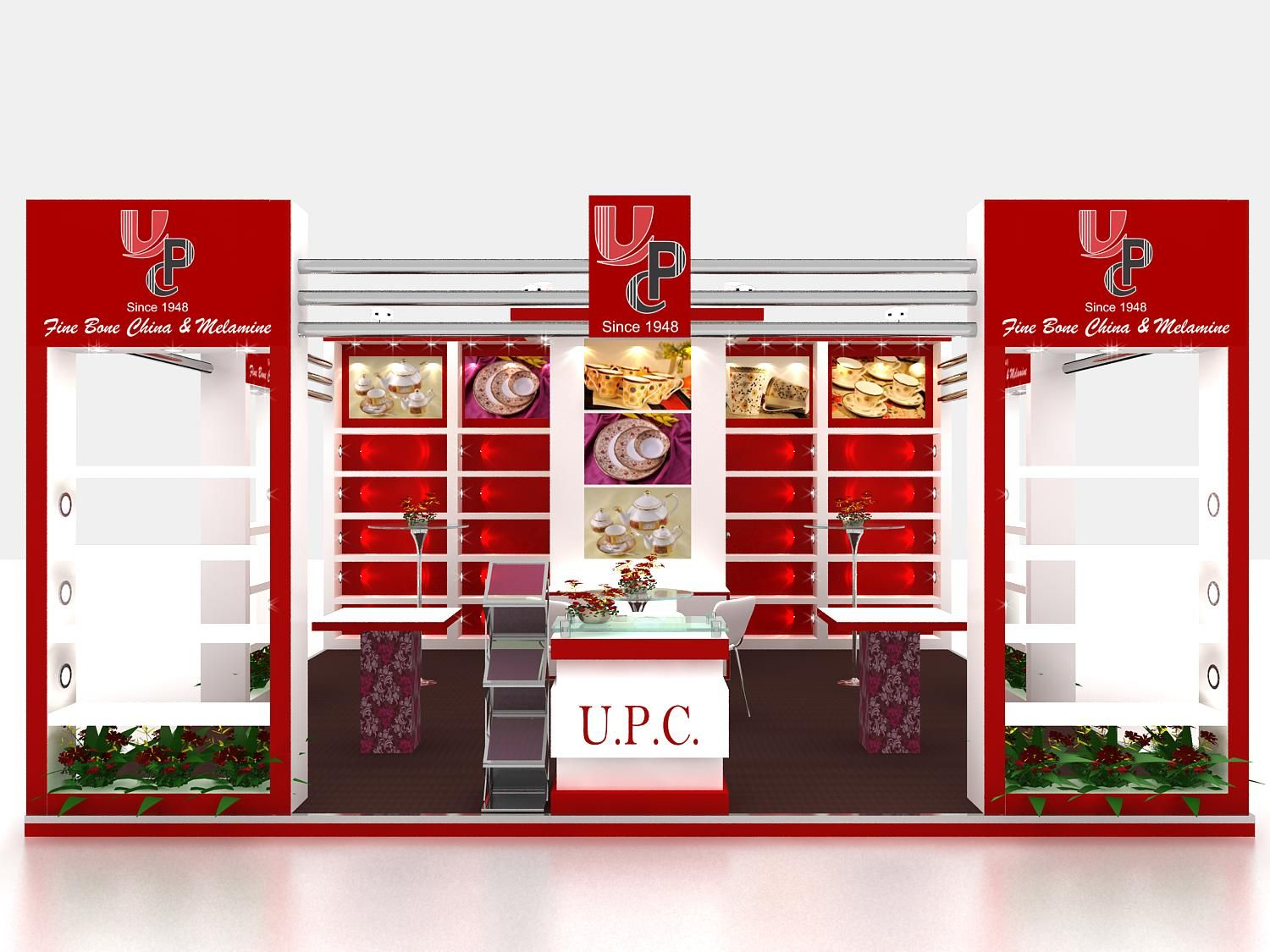 Food Exhibition Stand Design : Exhibition stand designing fabrication food hospitality