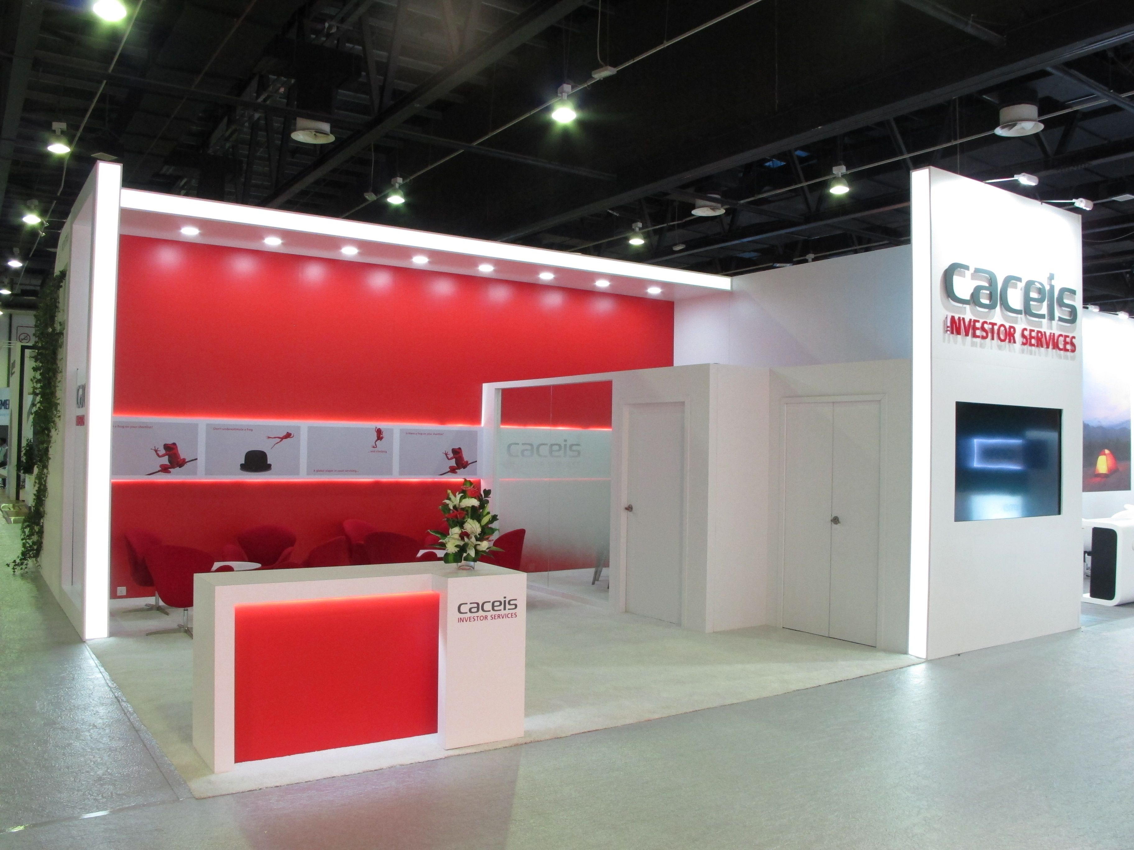 Sungard Exhibition Stand Year : Caceis bank at sibos dubai