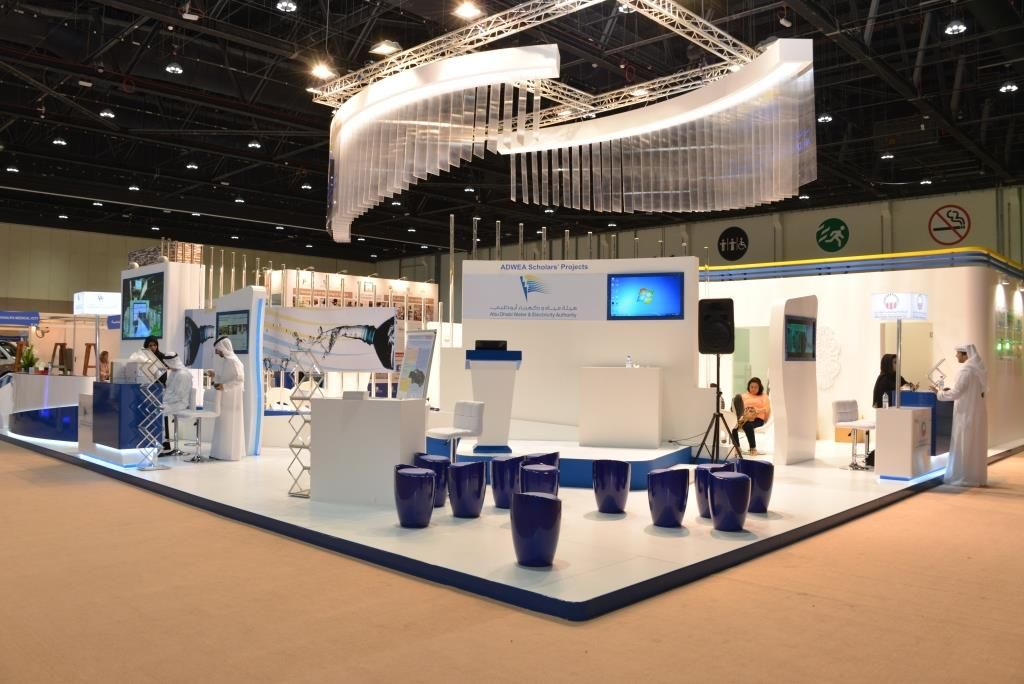 Modular Exhibition Stand : Highres events exhibitions