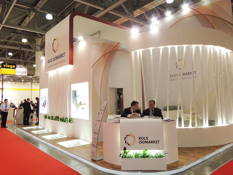 Modern Exhibition Stand By Me : Exhibition stands in moscow