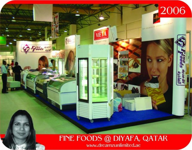 Exhibition Stand Contractors In Doha Qatar : Exhibition stand build at al diyafa doha qatar