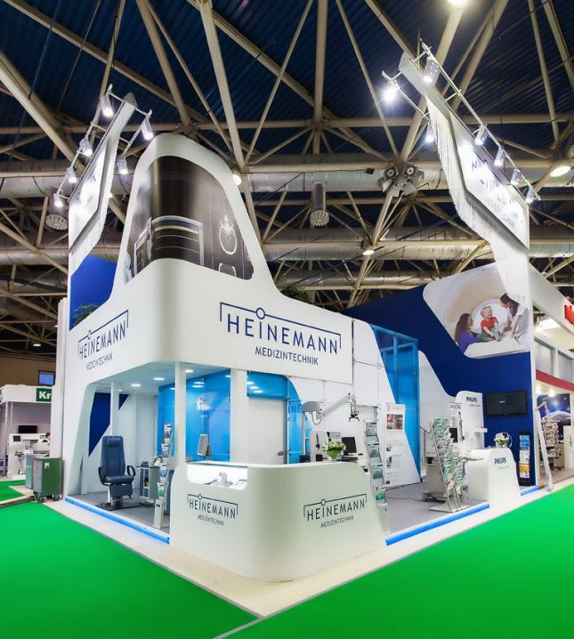Exhibition Stand Builders Jobs : Stand design construction and set up for heinemann