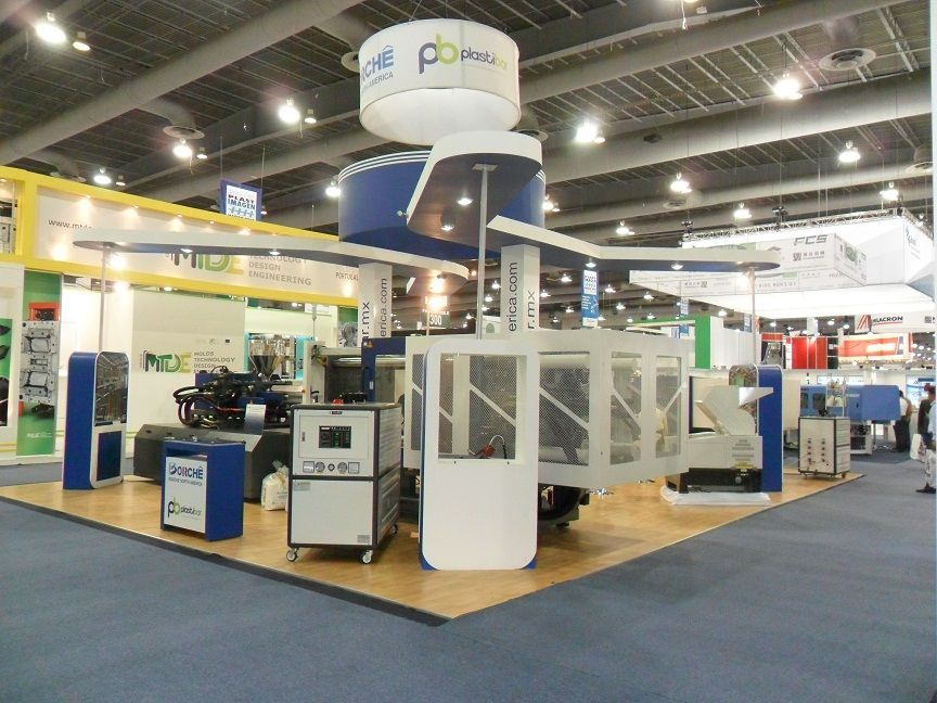 Exhibition Stand Logistics : Photo of stands inova logistics mexico city
