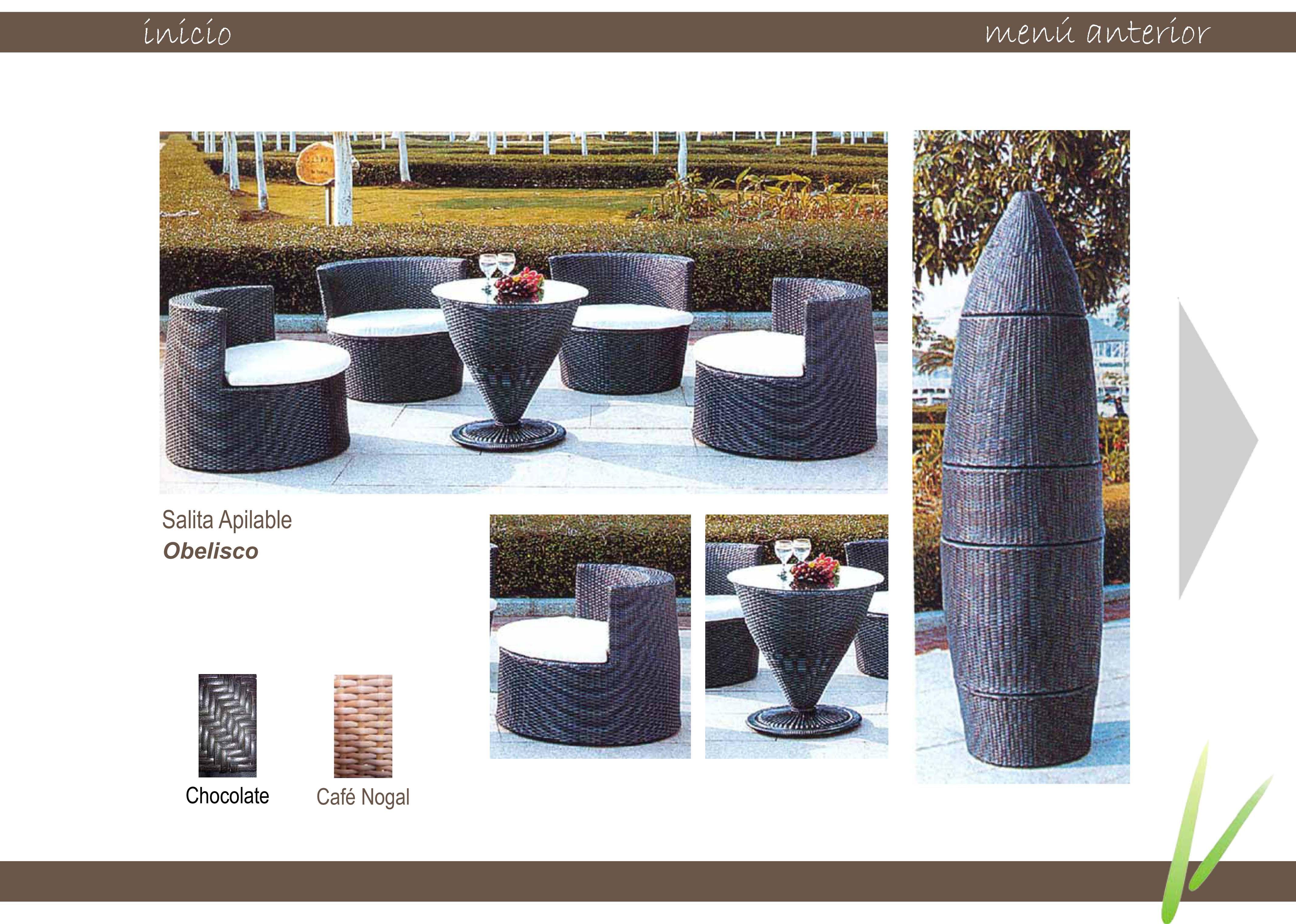 Espacio casual muebles para exteriores - Muebles para exteriores ...