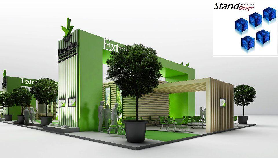 Exhibition Stand Futuristic : Stand design