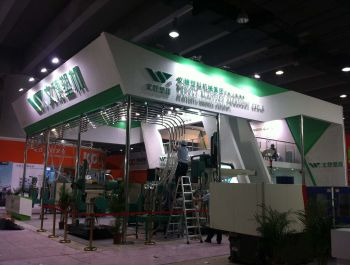 Chinaplas stand design and construction