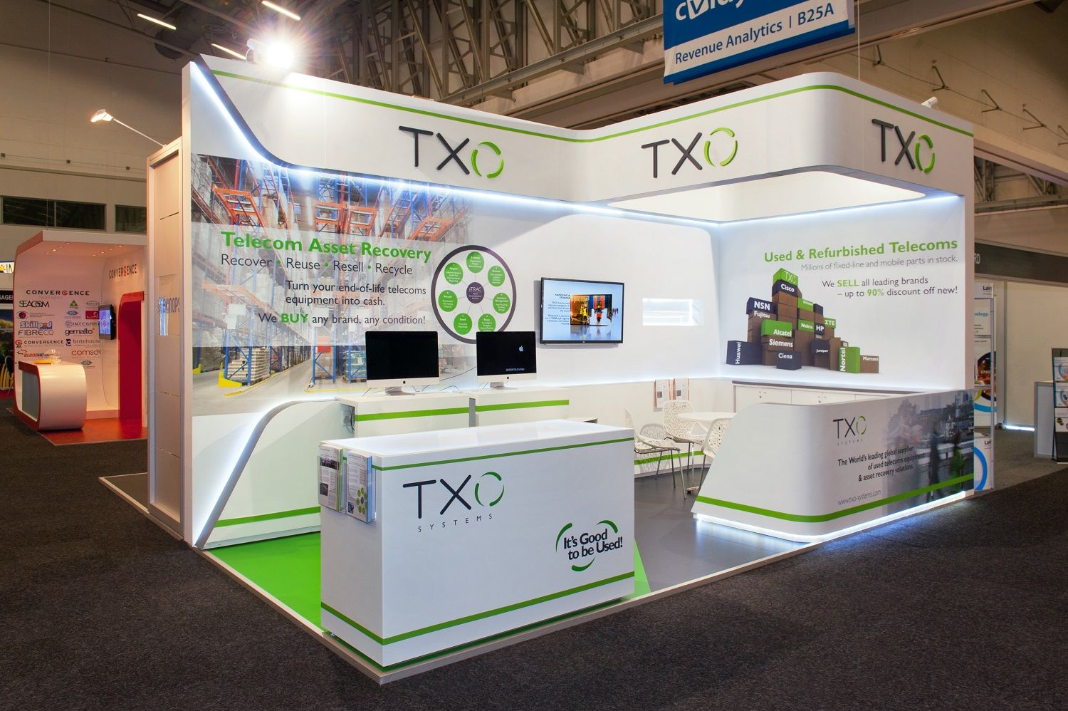 Marketing Exhibition Stand Xo : Hott dimensional marketing