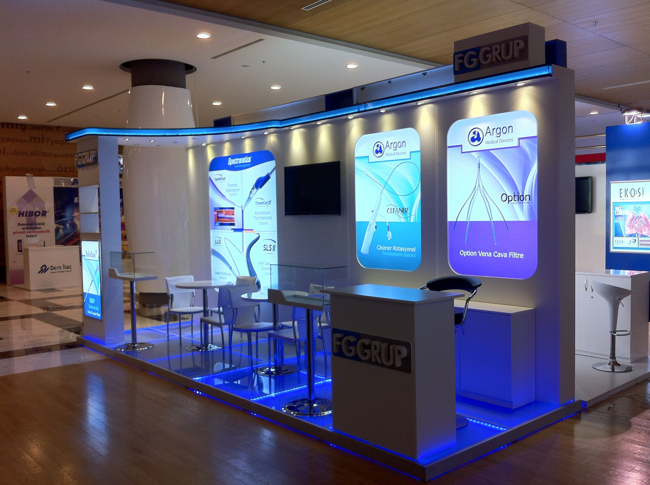 D Exhibition Stands : Fa architecture design congress and exhibition stand