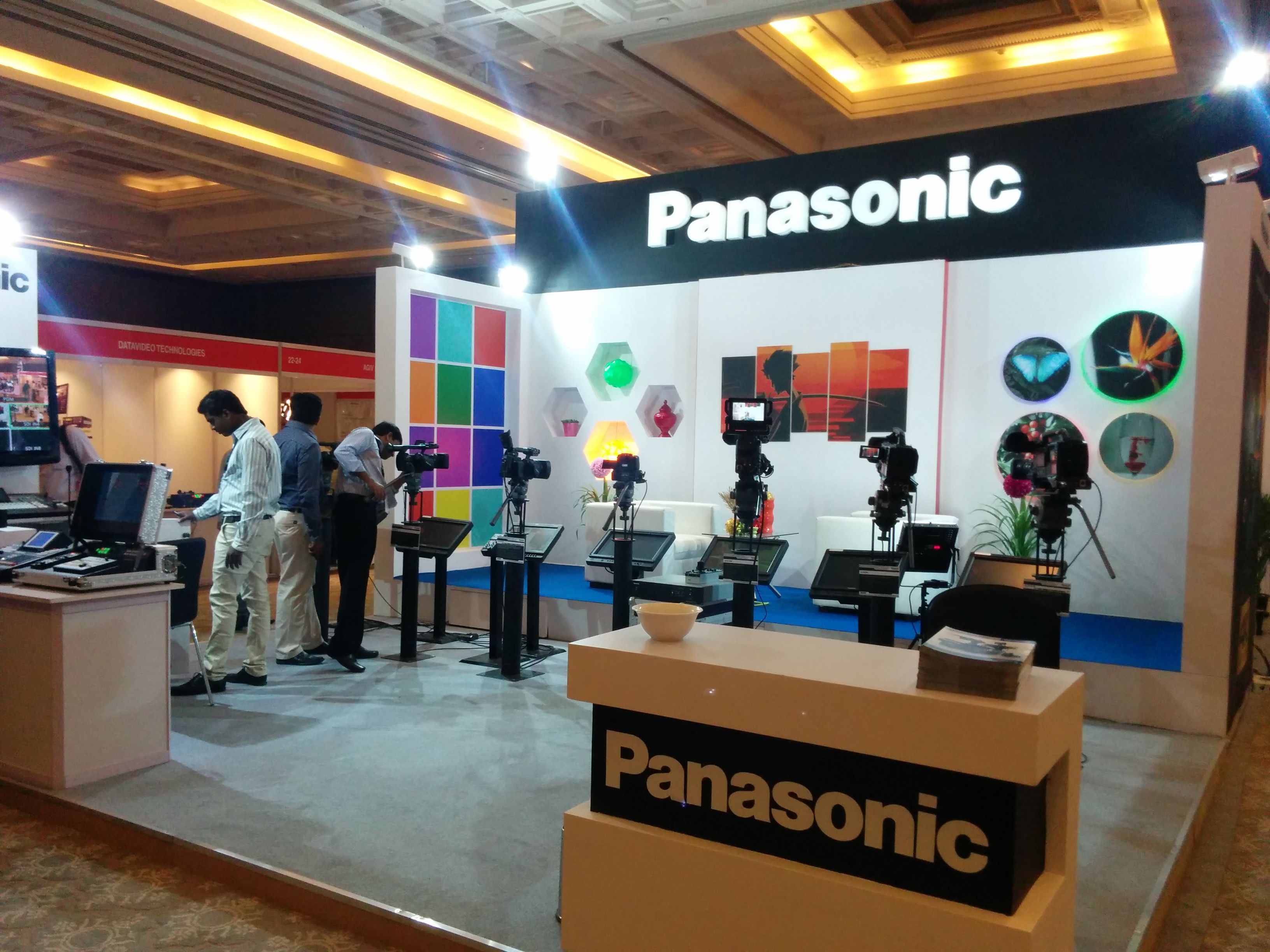 D Exhibition In Chennai : Exhibition stand designing fabrication panasonic vti