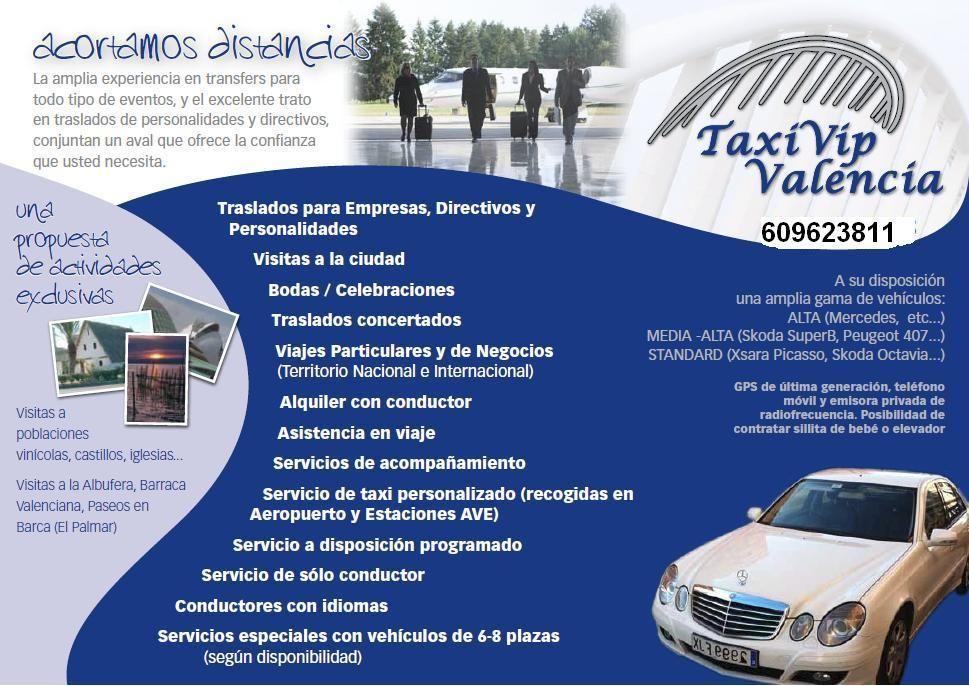 Taxivip valencia for Oficina de extranjeros valencia
