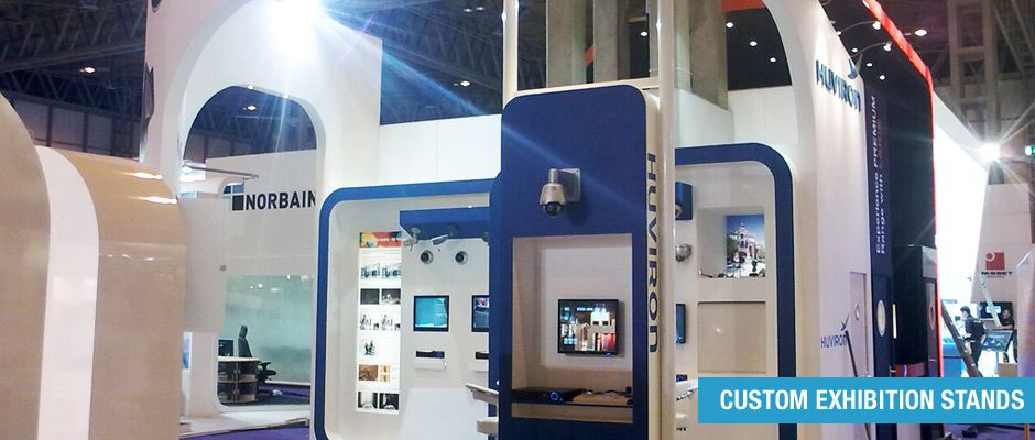 Custom Built Exhibition Stands : Taylex displays limited