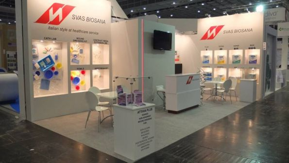 Milcharek Exhibitions Stand Dusseldorf Germany