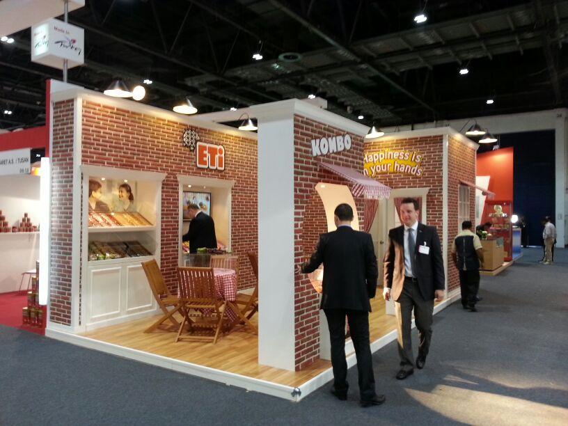Exhibition Stand Food : Eti gulf food exhibition stand