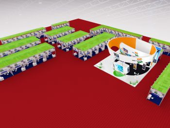 84th Izmir Internatilnal Fair India Pavilion Construction in Max Modular System and Wooden Structure.