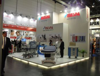 300+ SQM booths in Medica 2013